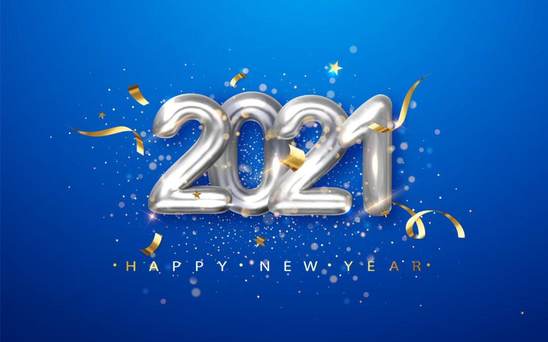 Najlepsze życzenia na nowy 2021 rok