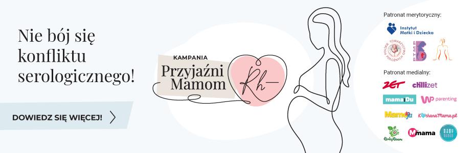 PTMP objęło patronatem kampanię edukacyjną: Przyjaźni Mamom Rh(-)